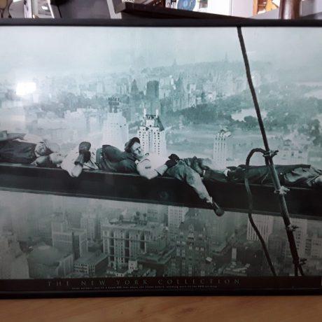 (13) (CK14013) American Construction Workers Print.82cm x 62cm.25.00 euros.