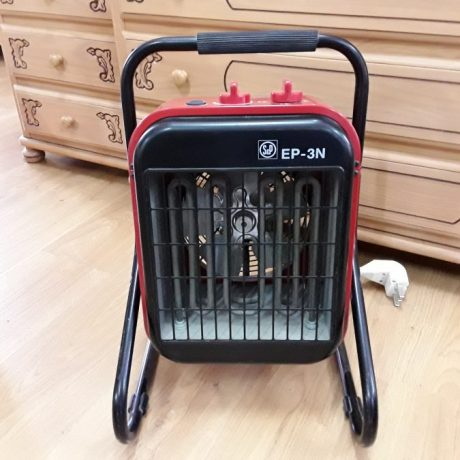 CK09011 EP-3N Industrial Electric Fan Heater.To Provide Fan Assisted Heating To Commercial Or Industrial Environments,Or For Drying Applications.45.00 euros.