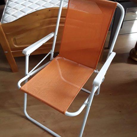 CK23008 Metal Framed Fold Up Beach Chair.5.00 euros.